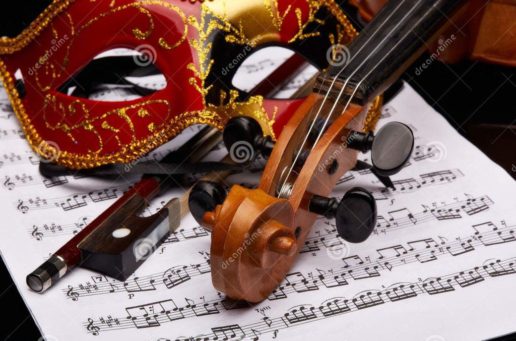 masque violon partition